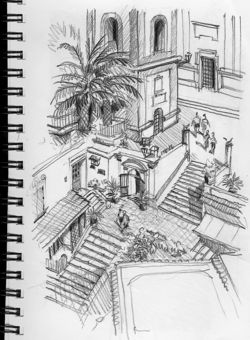 Italy Sketching-07