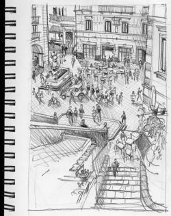 Italy Sketching-12