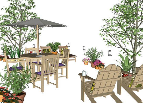 Drawing Furniture using a Google SketchUp Model - Jim ...