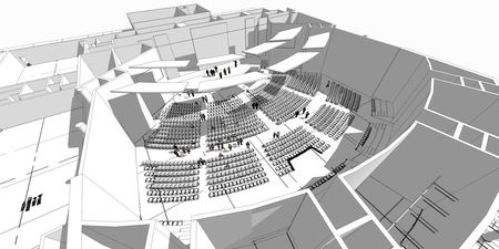 Church Auditorium Drawings Church Worship Auditorium