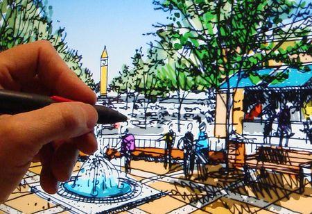 Coloring Options for Drawings - Traditional to Digital - Jim Leggitt ...