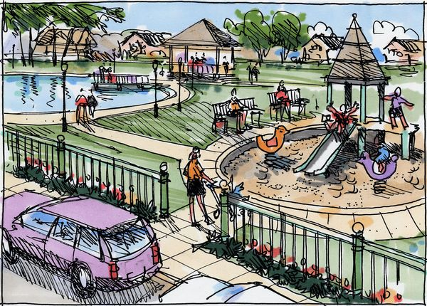 Quick Drawings for Parks and Open Spaces - Jim Leggitt ...
