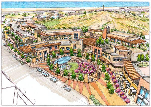 Landscape Architecture Drawing Sketches Site Plans