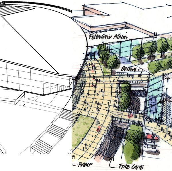 Architecture Design Concept Sketches S In Decor